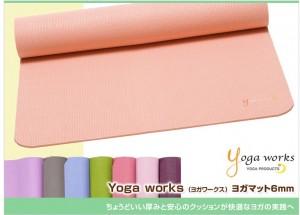 __Yoga_works___ヨガワークス_ヨガマット_6mm____ブランド別_Yoga_works_ヨガワークス_ヨガマット_____Puravida__プラヴィダ_ヨガ・フィットネス_-_ヨガウェア___ヨガパンツ___ヨガマット_通販